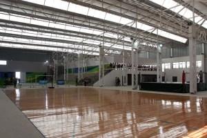 El polideportivo en Avellaneda, inaugurado a fines de 2016.