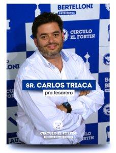 Carlos Triaca, hermano del ministro dijo contratar a Heredia. ¿la pata financiera?