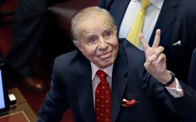 Internaron al expresidente Carlos Menem