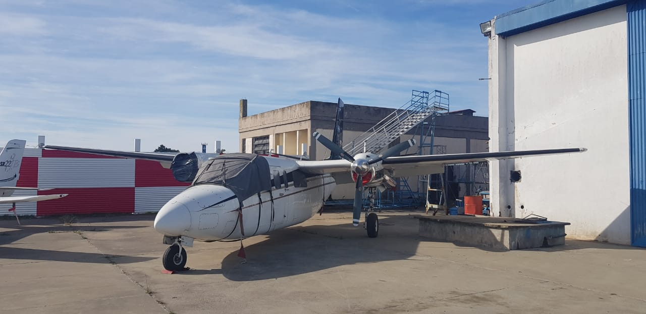 Sale a la subasta el primero de los dos aviones de Lázaro Báez incautados