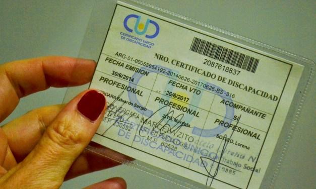 Cómo y dónde tramitar el Certificado Unico de Discapacidad (CUD)