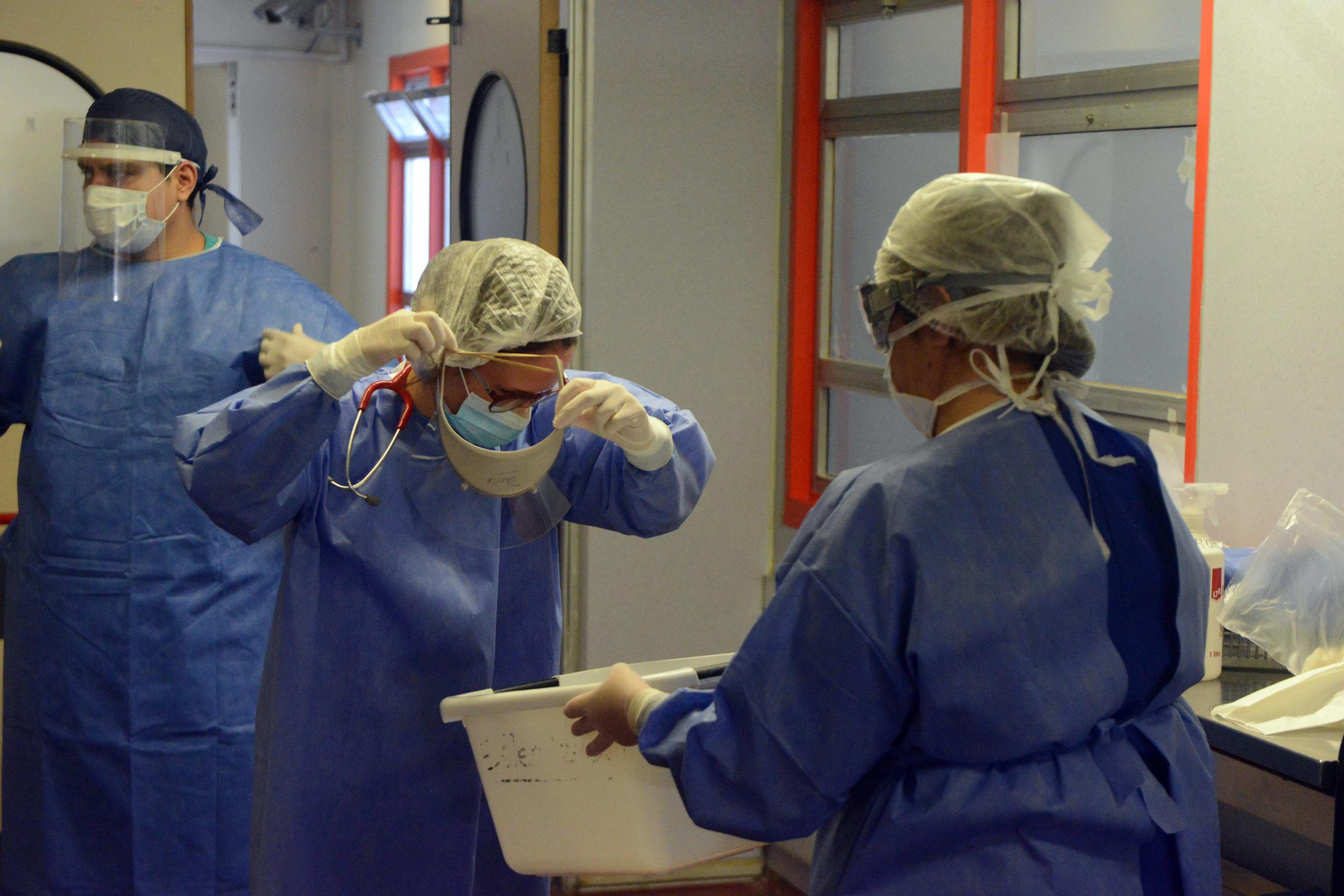 Otro problema sanitario: los estudiantes de Medicina que no pueden recibirse por la falta de cursadas