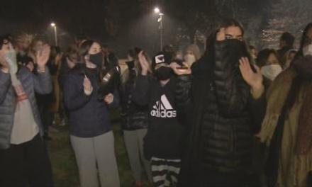 Vecinos de Pilar protestaron por la llegada de Lázaro Báez