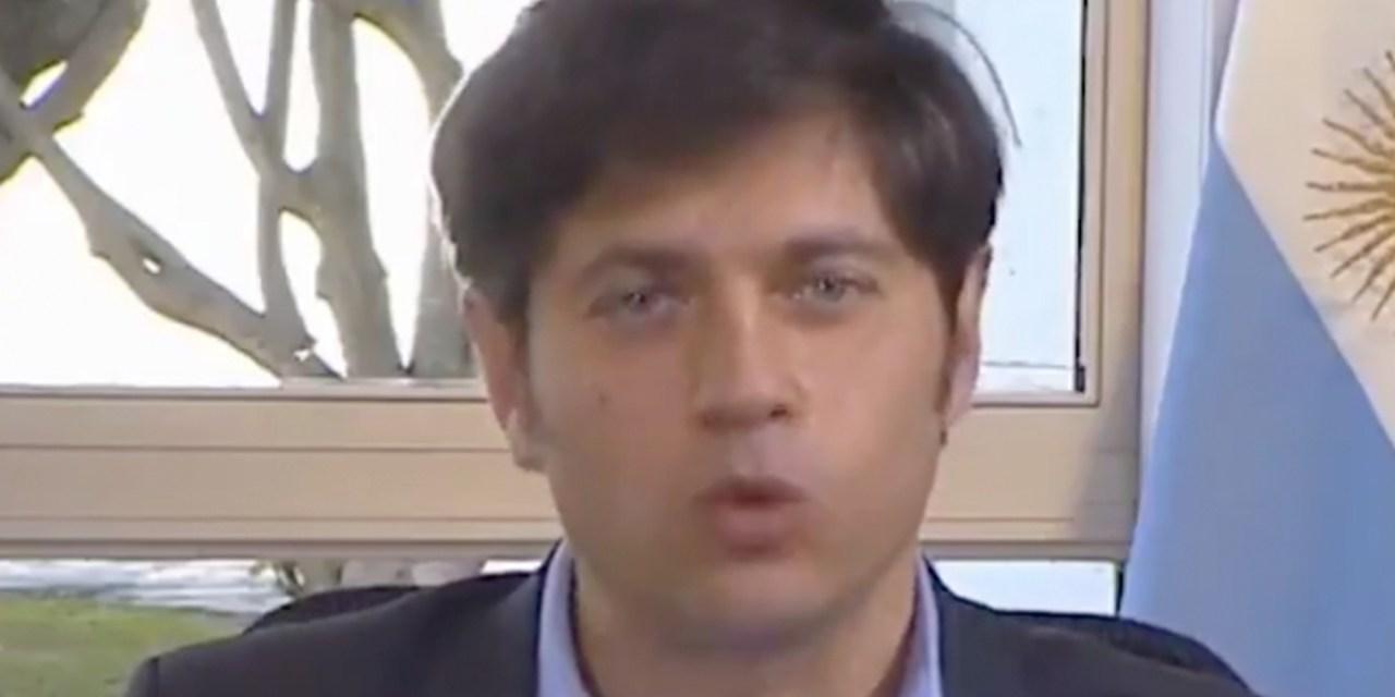 «Axel tiene razón»: el tuit de Cristina Kirchner con un video de Kicillof