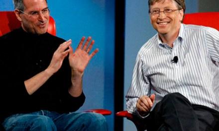 Bill Gates confesó que estaba celoso de Steve Jobs