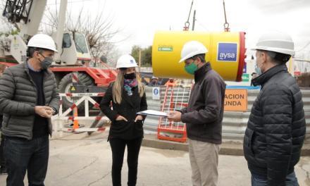 Inauguraron una nueva red de agua potable y avanzan con obras cloacales para más de 200 mil vecinos