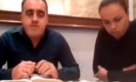 Pastor evangélico agredió a su esposa sin saber que estaba en vivo