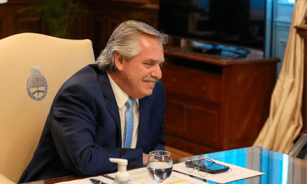 Alberto Fernández tuvo su primer contacto con Joe Biden