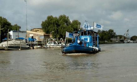 Pandemia en el Delta: ya entregaron 2 millones de litros de agua potable en Tigre-San Fernando