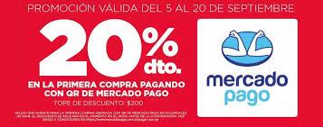 Campaña digital de DÍA donde promociona el uso de Mercado Pago con un descuento del 20%