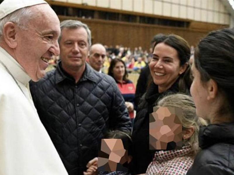 Filtran video del Papa Francisco con Emilio Monzó: «Eso es hacer patria»