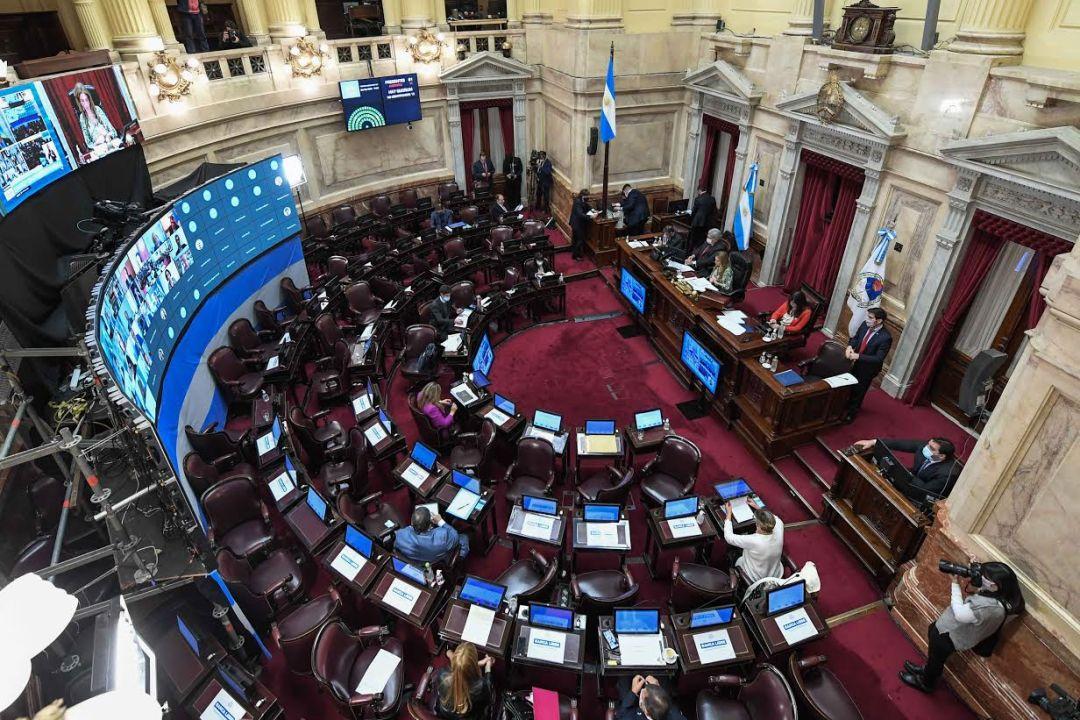 El senado sesionó este jueves