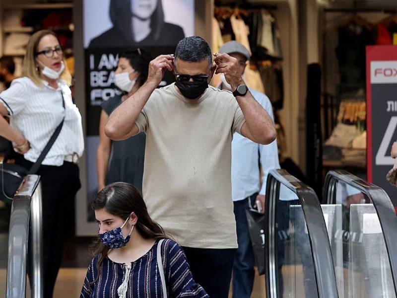 Israel registró la cifra más alta de casos de coronavirus desde abril