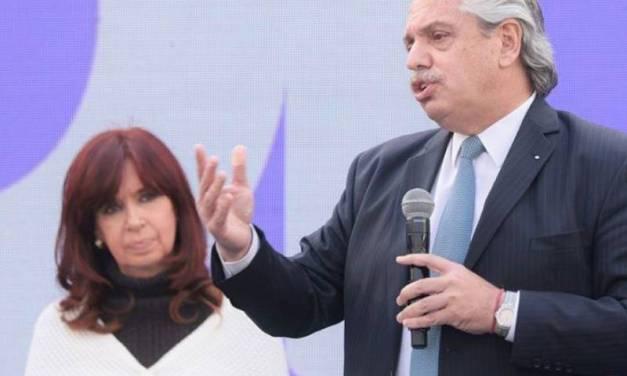 Acto en La Plata: Cristina Kirchner interrumpió dos veces el discurso de Alberto Fernández