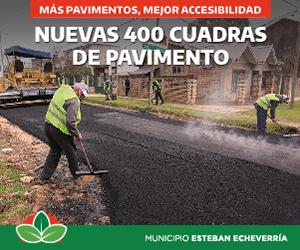 Anuncio Esteban Echeverria - Asfalto. Septiembre 2021