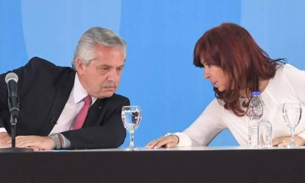 Reapareció Alberto Fernández con Cristina Kirchner tras la dura carta