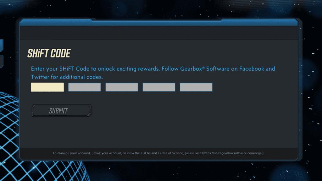 borderlands 3 new shift codes 2021 golden keys redemption screen