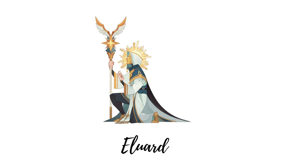 Eluard Lightbearer mage afk arena
