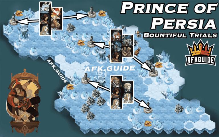 dastan prince of persia bountiful trials guide map