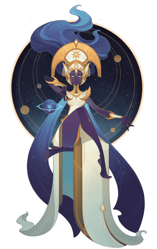 Morael Queen of Stars png nobg