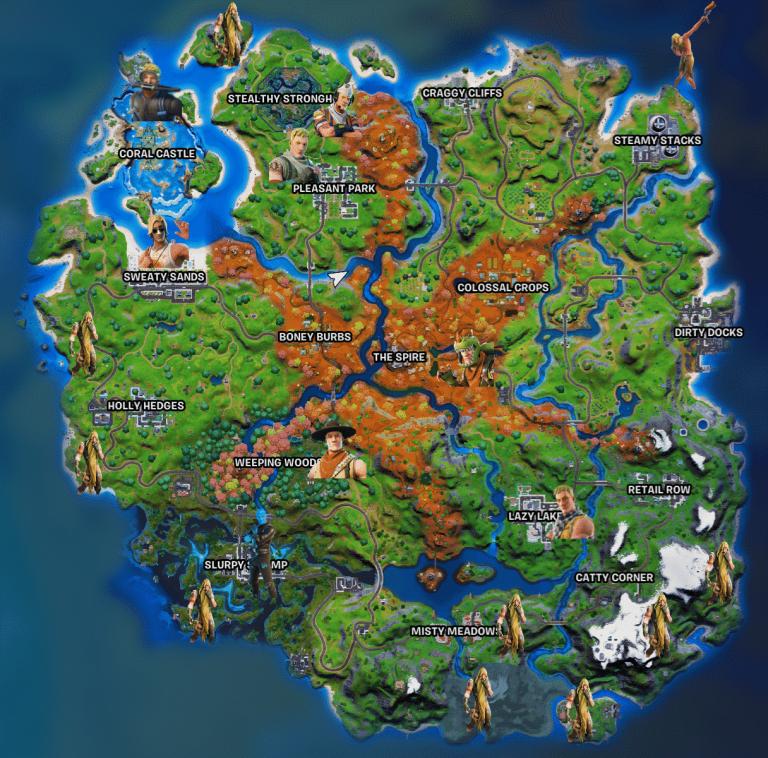 jonesy locations fortnite
