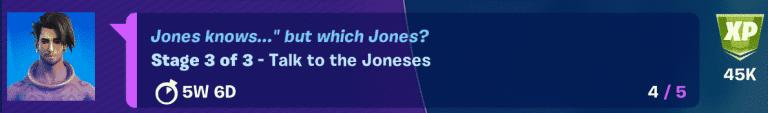 Fortnite Raz Spire quest talk to the Joneses