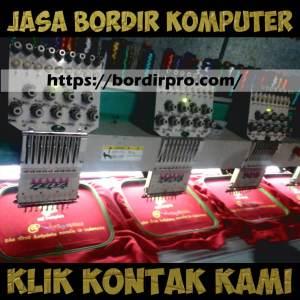 Jasa Bordir Komputer Logo di Surabaya