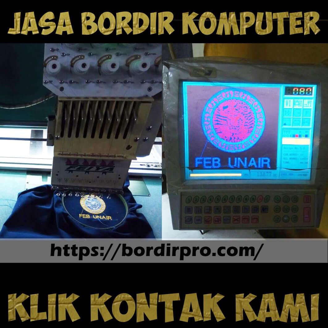 Jasa Bordir Logo Murah Surabaya