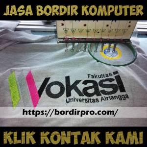 Ongkos dan Harga Jasa Bordir Komputer di Surabaya