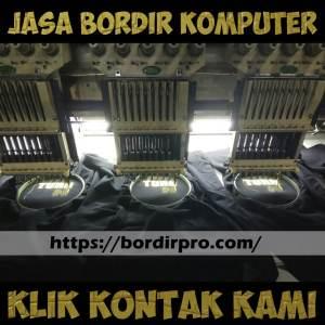 Jasa Bordir Komputer Hasil Berkualitas dan Memuaskan