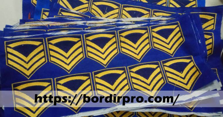 Jual Grosir Emblem / Bed Logo Bordir Murah