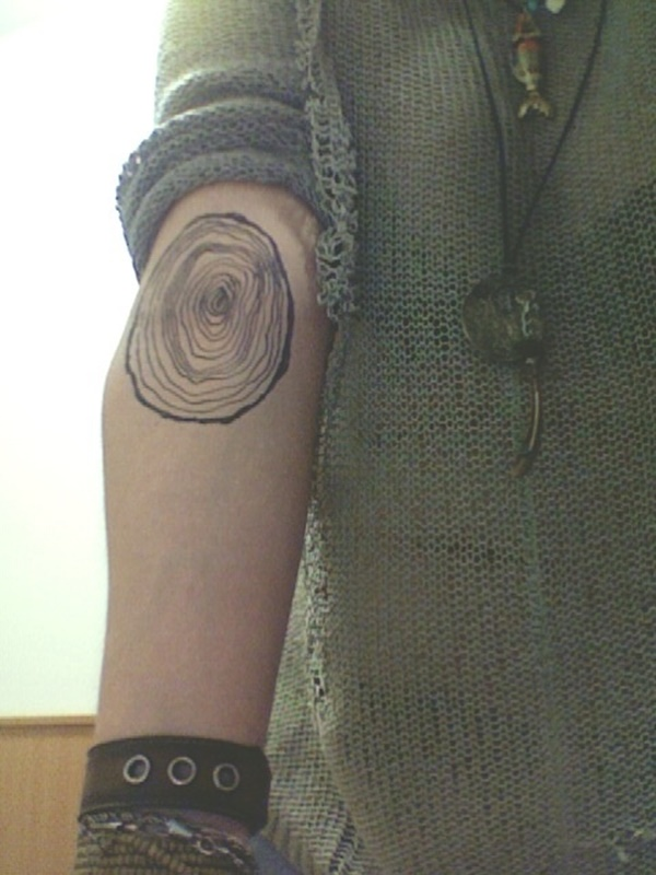 Tree Rings Tattoo : rings, tattoo, Tattoo, Gallery, Collection