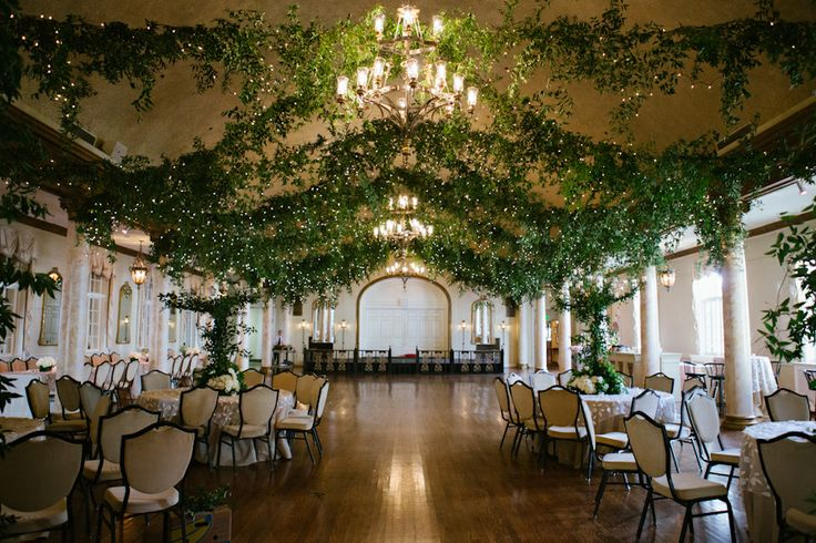 Country Club Décor For Weddings