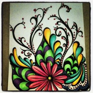 marker sharpie drawings drawing flower doodles pens doodle using flickr pencil simple flowers sketch gardens paint while markers draw colorful