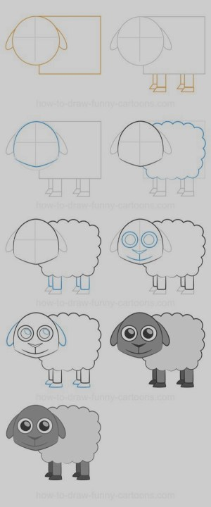 easy draw things step drawings bored practice drawing cool cartoondistrict sketches cartoon doodle tutorials loading animals craft