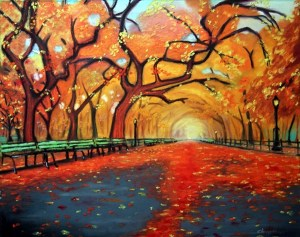 pastel beginners oil paintings easy painting drawing drawings abstract artist pastels watercolor chalk agora colors designs landscape autumn park clingerman