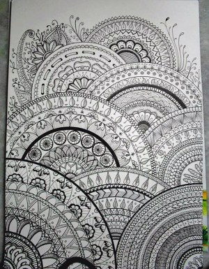 zentangle patterns absolutely many drawing paper uses bored timeless form manipulating basically eternal itself since