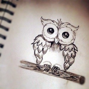 drawing hipster amazing creative drawings easy cool idea simple owl pencil awesome teenagers nice bored adorable really