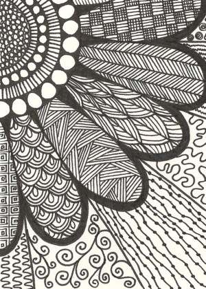zentangle patterns practice easy doodle pattern drawing draw simple doodles zen designs line zendoodle flower cool drawings bored zentangles doodling