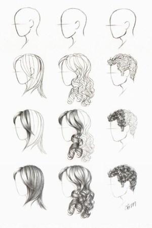 hair step draw