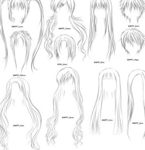 How To Draw Hair Step By Step Image Guides