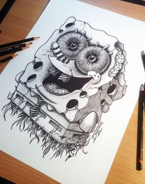 draw things random bored something character