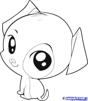 dog drawing puppy simple draw chibi easy drawings puppies animal follow cartoon dogs step practice animals eyes coloring pages google