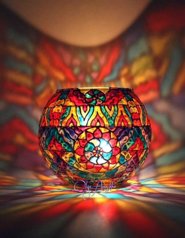 Acrylic Painting Ideas Easy Glass Bottle Novocom Top