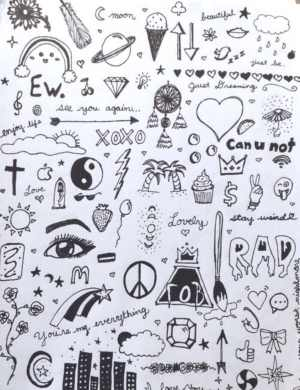 doodles doodle easy drawings drawing things projects bored simple try designs draw doodling notebook random fall boy boredart collage sketches
