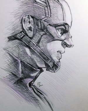 pencil marvel superhero drawings drawing america captain sketch magical avengers super sketches draw heroes superheroes awesome iron dibujo cartoon evankart