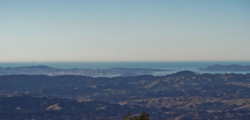 San Francisco Bay from Mount Diablo