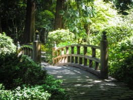 Bridge at Portland Japanese Garden