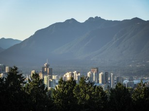 Vancouver, from Queen Elizabeth Park