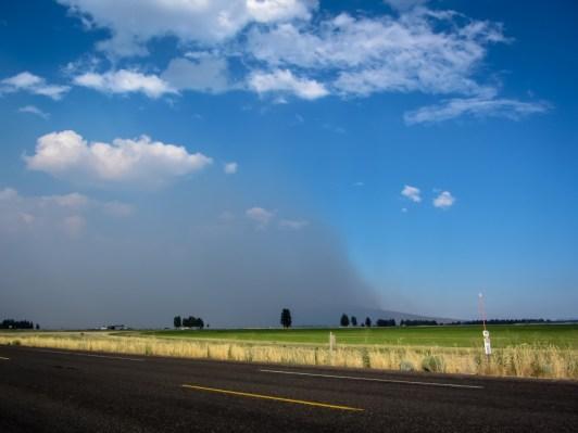 Smoke Wall